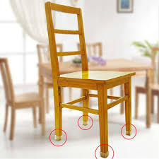 Kitchen Chair Leg Floor Protectors Amazoncom Chair Leg Floor Protectors Square Furniture Leg Caps 1