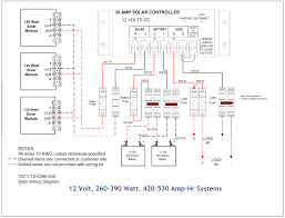 full list of solar system wiring & installation circuit diagram 24 volt battery system diagram at 24 Volt System Wiring Diagram
