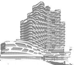 Hotel Design Concept Pin By Ban On Facade Hotel Concept Concept Architecture
