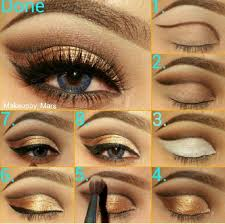 glamour makeup with makeup step by step with step by step eye makeup