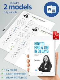 Pack With Ebook Pdf Format Cv And Cover Letter Model Noctula Store