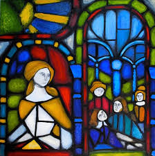 stained glass painting by caela1067