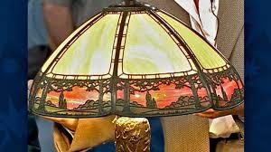 american slag glass lamps