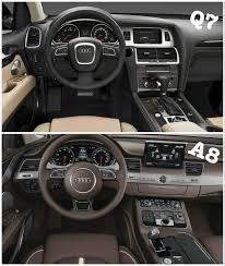 audi a7 2015 interior. interior spied 2015 audi q7 vs a8 a7