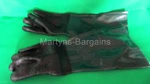 sand blasting cabinet gloves