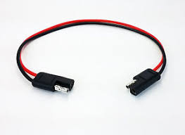 10 gauge 2 pin quick disconnect wire harness sae connectors image is loading 10 gauge 2 pin quick disconnect wire harness