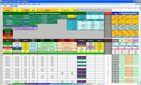 Free Online Business Plan Template Day Trading Business Plan Template Free Online Excel Spreadsheet1