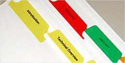 Custom Tabs Custom Index Tabs Index Dividers Binder Dividers Online