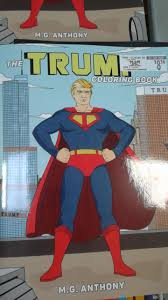 I got the line art from a justice league unlimited coloring book. The Donald Trump Coloring Book Album On Imgur