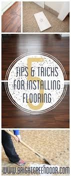 Laminate And Engineered Flooring Installation Tips