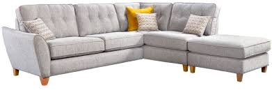 cromer large armless corner group lhf 3 seater unit with chaise footstool