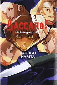 Durarara Light Novel Amazon Amazon Com Baccano Vol 1 The Rolling Bootlegs Light