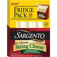 sargento string cheese snacks mozzarella 1 oz