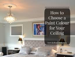 what color to paint ceilingWhat Colour Do I Paint the Ceiling