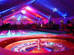 lighting frames. Casino Night Colored Lighting Frames
