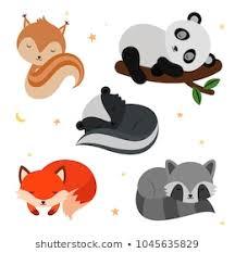 <b>Cartoon Animals</b> Sleeping Images, Stock Photos & Vectors ...
