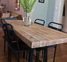 Industrial Style Dining Table - Foter