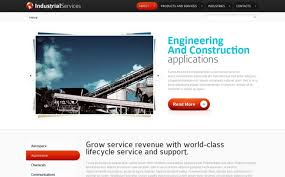 free html5 web template free html5 website template industrial services