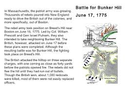 battle of bunker hill essay battle of bunker hill essay agaªncia  revolutionary war battle for bunker hill