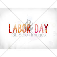 labor day theme labor day concept watercolor and ink painting gl stock images