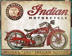 We are one of the trusted names in the market to offer a highly durable range of fiber wall decor. Indian Scout Model 101 Tin Sign Metal Vtg Motorcycle Garage Bar Wall Decor 1933 Ebay