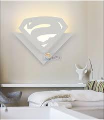 por kids wall lights lots. Children Room 8W Led Wall Lamp Abajur Cartoon Superman Acryl Lights Bedside Kids Modern Indoor Lighting-in LED Lamps From Por Lots O