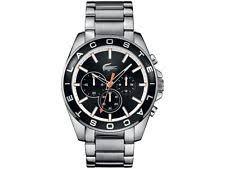 lacoste watch lacoste men s westport watch 2010855 stainless steel brand new