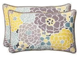 pillow perfect 2 piece outdoor lumbar pillows target