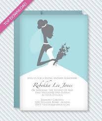 Bridal Shower Invites Templates Bridal Shower Invitation Template