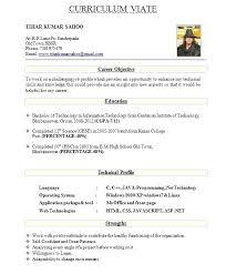 Format Of Resume For Fresher Teacher Resume Template Ideas