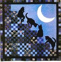 Cats (and People) Who Quilt & Cat Stairway to Heaven Adamdwight.com