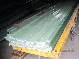 clear fiberglass
