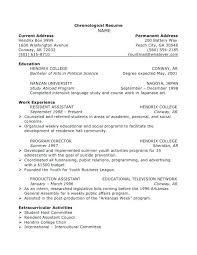 How To Write An Address On A Resume How To Write A Simple Resume How