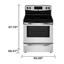 kenmore glass top stove. kenmore 94173 5.3 cu. ft. electric freestanding range w/ self-clean - stainless steel glass top stove .