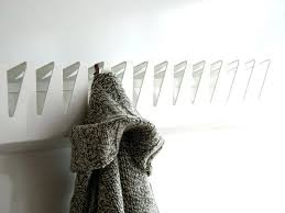 contemporary coat hooks contemporary coat hooks wall mounted with regard to with regard to white coat
