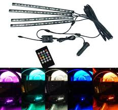 Bp Sound And Lighting Amazon Com Bolaxin 7 Color Multi Color Interior Under Dash