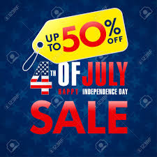 4th Of July Usa Independence Day Sale Promotion Banner Fourth