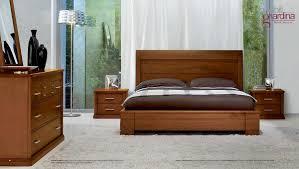 Arredamento per camera da letto letto in legno dal design
