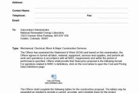 005 Bid Proposal Template Pdf Free Construction Forms