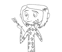 Small Picture Coraline coloring pages to download and print for free