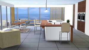 Sims Kitchen Kitchen Moderno The Sims 3 Youtube