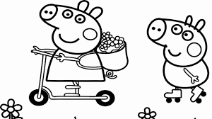 Add color to pictures of your favorite animals, interesting objects, yummy food, fun activities, vacation spots use the black lines as a guide and have fun making the coloring pages look bright and beautiful. Cartoon Coloring Book Pdf Download Fresh Coloring Sheets 59 Peppa Pig Coloring Book Printable Peppa Pig Coloring Pages Peppa Pig Colouring Coloring Books