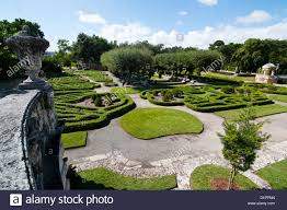 view of vizcaya museum and gardens in miami florida