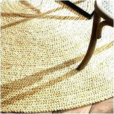 round natural fiber rug 8 jute rugs photo 5 of 9 braided reversible 8x10