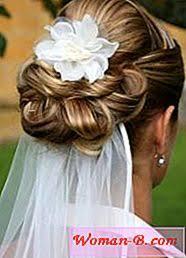 Svatební účesy Pro Dlouhé Vlasy Se Závojem Móda 2017 časopis