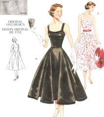 Retro Dress Patterns Delectable Clothing My Strings
