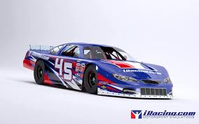 new car releases and previewsiRacing releases first preview render of Super Late Model stock