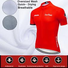 <b>2019</b> new red <b>STRAVA</b> Pro Bicycle <b>Team</b> Short Sleeve Maillot ...