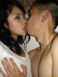 Truly Asians Busty California Asian Girl Sex and Blowjob BF.