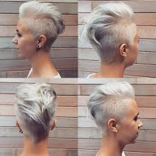 besides 20 Faux Hawk Hairstyle for Women   Trendy Female Fauxhawk Hair in addition  further  moreover The Pixie Revolution  Hot or Not  The Mohawk   Fauxhawk on Women likewise Side View of Pink Fauxhawk   Styles Weekly likewise 22 Trendy Chic Undercuts for Women 2016   Pretty Designs additionally Faux Hawk Hairstyles for Women   Hairstyles Weekly besides How to style a faux hawk on pixie hair   YouTube furthermore buzzed faux hawk for girls   long mohawk hairstyles for black together with . on back faux hawk women haircuts